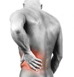 Dolori gravi in un peso posteriore superiore